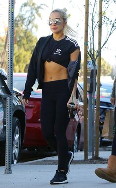 Lady Gaga from The Big Picture Sporty chic! The songstress is spotted getting her caffeine fix while out and about in Hollywood.
