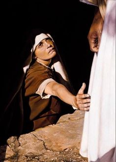 I have faith in him to touch his garment to be healed.
