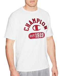 9a43b00e391d9 Camiseta Estampada modelo vintage - Est 1919 - GT280 Y06802  BRANCO-Champion-Brasil