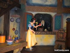 Disney World Snow White's Scary Adventures Ride Closure May 2012 . I loved this even though it was super scary!