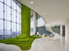 Image 1 of 21 from gallery of CJ Blossom Park / CannonDesign. Photograph by Tim Griffith + Christopher Barrett