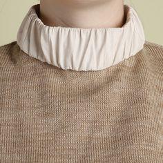 Y Project Tan Leather Collar Turtleneck / Shop Super Street - 3