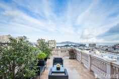 Hellman Mansion, San Francisco.  I dream about this rooftop courtyard.