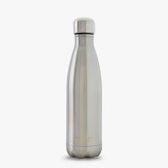 silver lining save the planet swell water bottle
