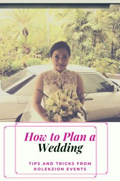 Learn the tricks and tips in wedding planning.How can you plan your wedding day with this 31 bridal tips.Recommended for couple that needs guidance for their wedding planning.For your Manila wedding you can check Kolekzion events wedding services. #weddingplanner #weddingplanning #brideandgroom #weddingtips #manilawedding