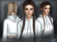 Here is Sims 4 Braids Cc Collection for you. Sims 4 Braids Cc the sims resource sparks million braids hairstyle. Sims 4 Tsr, Sims Cc, Sims 4 Cc Eyes, Jenny Schmidt, New Hair, The Sims 4 Cabelos, Pelo Sims, 4 Braids, Twin Braids