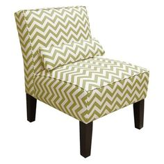Target chevron chair chartreuse $265