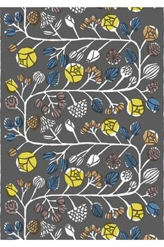 Kranssi HW cotton fabric was $53.00 now $39.75 by #Marimekko  Product: Kranssi HW cotton fabric Pattern: Kranssi Pattern Designer: Masaru Suzuki Material: 100% cotton Repeats: 0.96