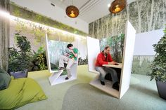 Downgraf - Imaginative Google Office of Zurich(12)