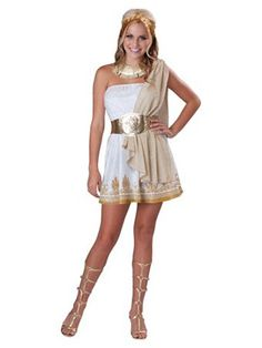 You'll take being a goddess to new heights when you wear this glitzy teen girl goddess costume. This glitzy teen girl goddess costume is a unique Greek costume idea for girls. Teen Girl Costumes, Halloween Costumes For Teens Girls, Cute Halloween Costumes, Costumes For Women, Scary Halloween, Scary Costumes, Halloween City, Group Halloween, Pirate Costumes