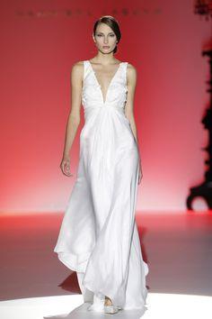 Barcelona bridal week. Diseño: Hannibal Laguna