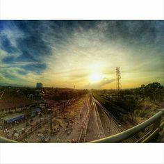 From dusk till dawn #yicambandung #bandung #bandungjuara #flyoverkiaracondong
