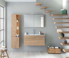 Solid wood bathroom vanity and storage solutions. Solid Wood, Bathroom Furniture, Bathroom, Lighted Bathroom Mirror, Furniture, Bathroom Design, Wood Bathroom Vanity, Wood Bathroom, Home Decor
