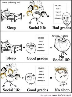 Sad But True College Life