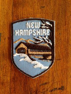 New Hampshire Vintage Travel Patch by Voyager by HeydayRetroMart, $6.50