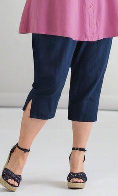 Bottoms - GRACE CROP PANTS