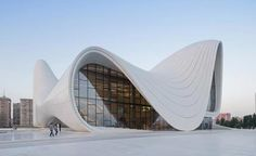 I can feel the energy and smoothness of the sultry lines on this building...amazing!  Zaha Hadid's Heydar Aliyev Centre in Baku wins Design of the Year | Architecture | Wallpaper* Magazine
