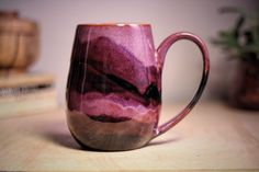 Galaxy-themed ceramics by Artisan Amanda Joy Wells | Vuing.com
