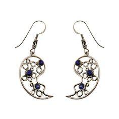 Boucles d'oreilles Amour - C?ur en Argent et Lapis-Lazuli de ShalinIndia, http://www.amazon.fr/gp/product/B00AZFYPII/ref=cm_sw_r_pi_alp_5pJerb0R1GRGC