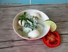 Fusion Tzatziki with Cucumber Mint and Mozzarella     Chef  dePaprika       Foodie recipes & blog with a dash of … Paprika