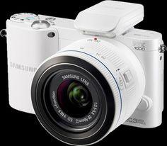 una cámara de fotos blanca!