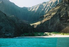 kaua'i the na'pali coast - loved sailing down this coast on the Eileen