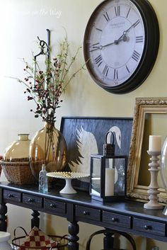 Living Room Makeover by Shopping the House