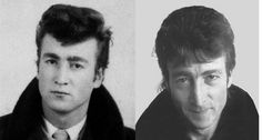 """On the morning of December 8th 1980 (around 10 AM) John Lennon left his home at the Dakota, to go to a nearby barbershop to have his hair cut into a """"50s Teddy Boy"""" style."""