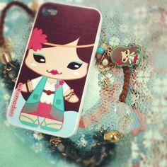 My Komadori Iphone Case
