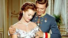 .Romy Schneider as Empress Elisabeth 'Sissi' of Austria in Sissi - The Young Empress (1956).