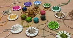 Halifax Embroiderers' Guild: April Meeting - Yorkshire Buttons - instructions included!