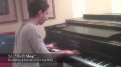 A Piano Arrangement of 42 Pop Songs Like 'Blurred Lines,' 'Get Lucky,' and More
