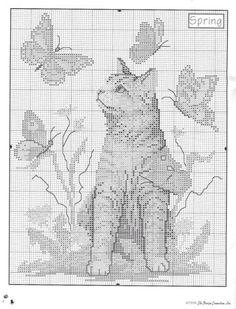 Just Cross Stitch, Cross Stitch Needles, Cross Stitch Animals, Cross Stitch Charts, Counted Cross Stitch Patterns, Cross Stitch Designs, Cross Stitch Embroidery, Cat Cross Stitches, Cross Stitching