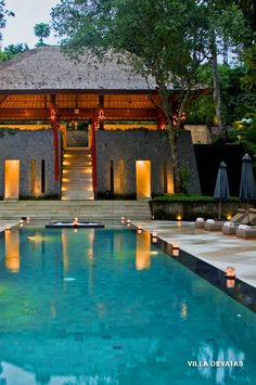 How good does this look for a honeymoon or destination wedding? {Supplier: Bali Luxury Villa Collection} {Location: Bali} {Category: Honeymoons & Venues} www.sayso.com.au