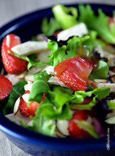 Strawberry Chicken Salad Recipe -  http://www.babble.com/best-recipes/strawberry-chicken-salad-recipe/