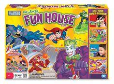 $15 Super Friends Joker's Fun House Game
