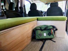 Wally Camper Van Conversion Kit for the RAM Promaster City Cargo Van Conversion Kits, Fold Up Table, Ram Promaster, Folded Up, Campervan, Caravan, Wayfarer, Vans, Ideas