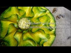 Pumpkin Art Carving 1,Lessons 8 Advance,แกะสลักฟักทอง แบบที่ 1 - YouTube