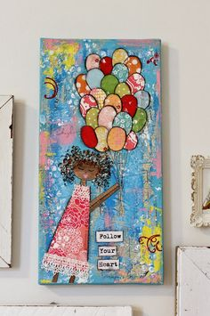 Flower Patch Farmgirl: Ruby River's Collage Wall