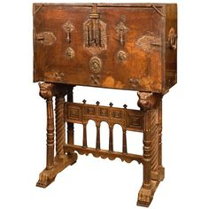 16th century Spanish Renaissance Vargueno at 1stdibs