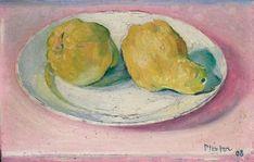 Albert Pfister  Quitten , 1908 Guacamole, Tableware, Ethnic Recipes, Food, Art, Switzerland, Art Background, Dinnerware, Tablewares