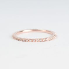 Rose gold #ring. so pretty and simple. I actually wouldn't mind wearing this everyday. http://s.click.aliexpress.com/e/nyZBayf