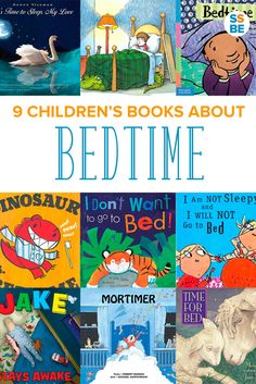 Having trouble getting the kids to go to sleep? Going to bed can be a smooth routine with the help of these 9 favorite children's books about bedtime.