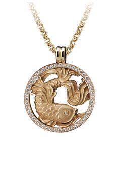 Magerit - Zodiac Collection: Necklace Big Piscis