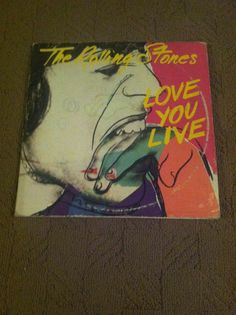 The Rolling Stones Love You Live 1977 double Record