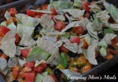 Everyday Mom's Meals ~Taco Casserole~ A simple meal with everyone's favorite taco fixins' in one delicious, flavorful dish. Easily adaptable to include your family's favorites.