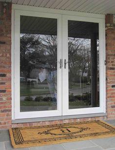 West Window Storm Door Double Pane Insulated Glass
