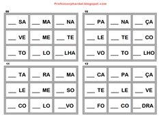 Veja mais um interessante jogo reciclado que poderá servir como uma importante ferramenta no processo de ensino aprendizagem dos alunos da... Computer Keyboard, Education, School, Videos, Prints, Waldorf Education, Alphabet, Bingo Cards, Preschool Printables