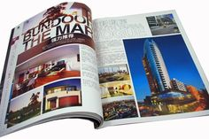 China high quality printing service for magazine printing/book printing/catalog
