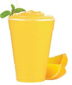Orange Blended Smoothie (NCAA Compliant), made with BiPro, Unflavored, Whey Protein Isolate  www.BiProUSA.com